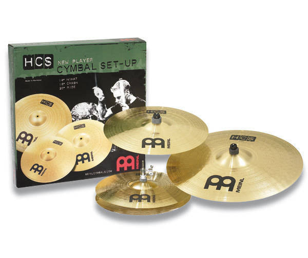 meinl hcs cymbal pack long mcquade musical instruments. Black Bedroom Furniture Sets. Home Design Ideas