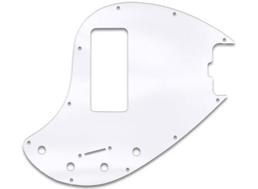 Pickguard for Music Man 5 String StingRay Bass - Clear Acrylic