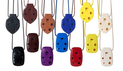 Susato Mini Pendant Ocarina in C - Assorted Colours
