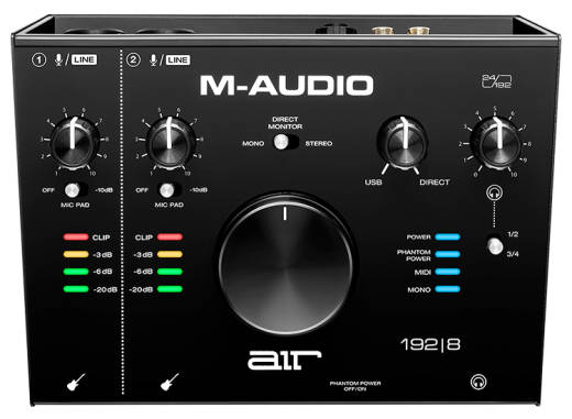 AIR 192|8 2-In/4-Out 24/192 Audio MIDI Interface