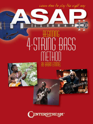 ASAP Beginning 4-String Bass Method - Emmel - Bass Guitar - Book