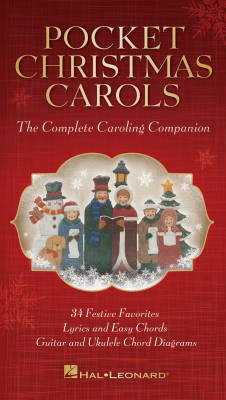 Pocket Christmas Carols: The Complete Carolling Companion - Fakebook - Book