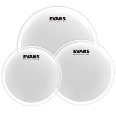 UV2 Coated Drum Head Tom Pack (12,13,16) 2-Ply