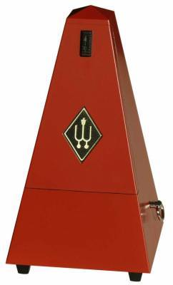 Plastic Pyramid Metronome - Red