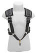 BG France - Comfort Harness with Coated Clasp for Alto/Tenor Saxophone - Small