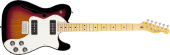 Fender - Modern Player Telecaster Thinline Deluxe - 3 Tone Sunburst