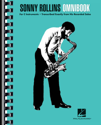 Sonny Rollins Omnibook for C Instruments - Book