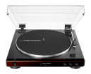 Audio-Technica - ATLP60X Fully Automatic Belt-Drive Turntable - Brown