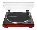 Audio-Technica - ATLP60X Fully Automatic Belt-Drive Turntable - Red