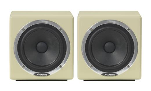 MixCube Passive Full-Range Mini Reference Monitors (Pair) - Cream