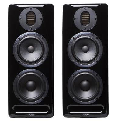 Mix Tower Studio Reference Monitors (Pair) -  Black