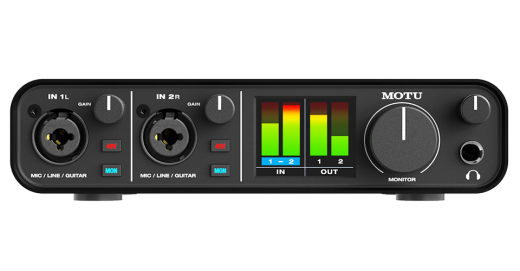 M2 2-in / 2-out USB Audio Interface
