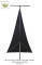 Lighting Stand Scrim - Single Side in Black