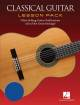 Hal Leonard - Classical Guitar Lesson Pack - Books/DVD/Audio Onlikne