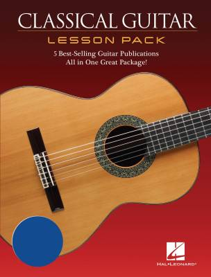 Classical Guitar Lesson Pack - Books/DVD/Audio Onlikne
