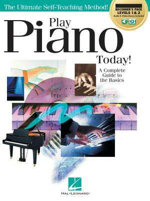 Play Piano Today! All-In-One Beginner's Pack - Stosur - Books/Media Online