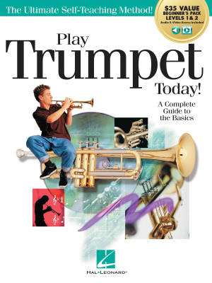 Play Trumpet Today! Beginner's Pack - Menghini - Books/Media Online