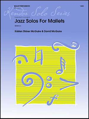 Jazz Solos For Mallets - McGuire/McGuire - Marimba Solo/Piano