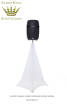 Scrim King - Speaker Stand Scrim - Double Side in White