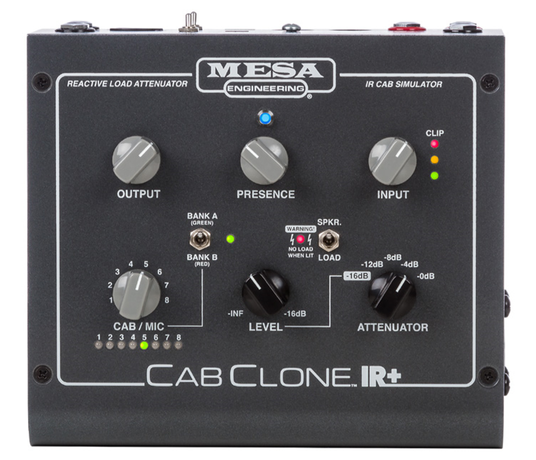 CabClone IR+ 8-Cabinet Simulator with Attenuator