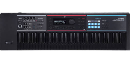 JUNO-DS61 Limited Edition 61-Key Synthesizer - All Black