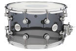 Drum Workshop - Design Series Acrylic 14x8 Snare Drum w/ Chrome Hardware - Smoke