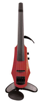Wav 5-String Violin - Trans Red