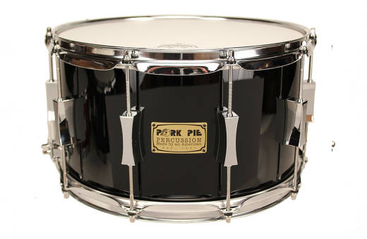 8x14 Maple Oak Snare Drum - Black