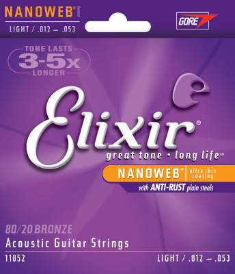 Nano Web 10-47 Light 12-String Acoustic Strings