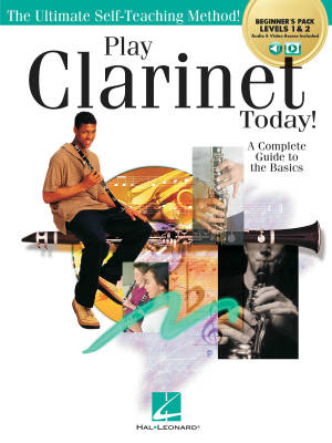 Play Clarinet Today! Beginner's Pack - Bryk - Clarinet - Book/Media Online
