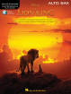 Hal Leonard - The Lion King for Alto Sax: Instrumental Play-Along - Book/Audio Online
