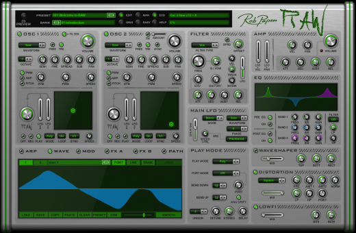 RAW Virtual Synthesizer - Download