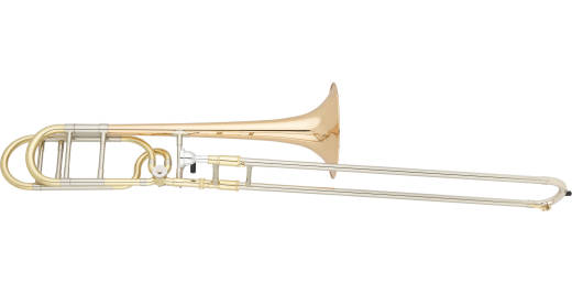 Trombone .547'' Bore, Open-wrap F Attachment and Gold-Brass Bell