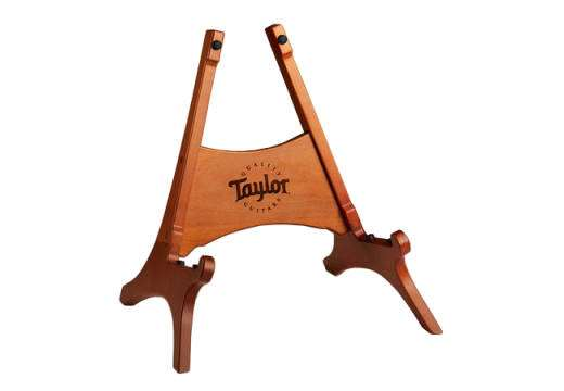 Brown Danish Beechwood Guitar Stand
