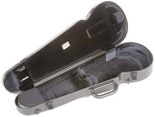 bam cases hightech contoured violin case long mcquade musical instruments. Black Bedroom Furniture Sets. Home Design Ideas