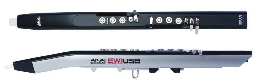 Akai Ewi Usb Midi Wind Controller Long Amp Mcquade Musical