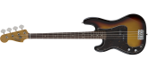 Fender - Made in Japan Traditional 60s Precision Bass with Gigbag - Left-Handed - 3-Colour Sunburst