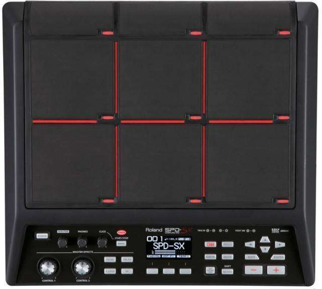 Roland SPD-SX Sampling Pad - Long   McQuade Musical Instruments 738844169725