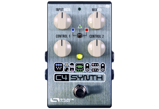 C4 Synth Pedal