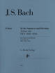 G. Henle Verlag - Sonatas and Partitas BWV 1001-1006 for Violin solo - Bach/Ronnau/Schneiderhan - Violin - Book