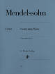 G. Henle Verlag - Songs without words - Mendelssohn /Herttrich /Theopold - Piano - Book