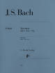 G. Henle Verlag - Toccatas BWV 910-916 (With Fingerings) - Bach/Steglich/Theopold - Piano - Book