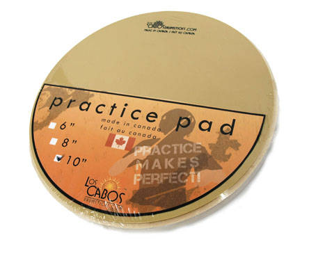 Practise Pad 10-Inch Diameter  Made in Canada