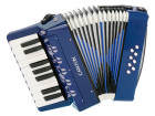 Carlton - Childrens Chromatic Piano Accordion - Blue