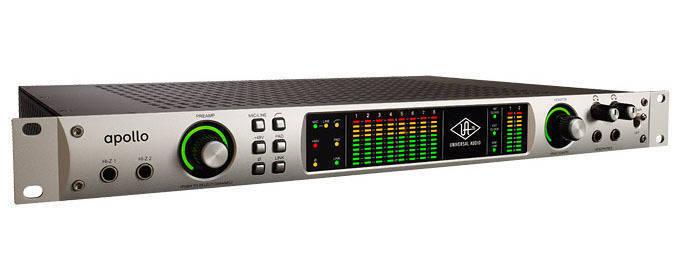 Apollo Quad UAD 18 X 24 Firewire Audio Interface w/DSP