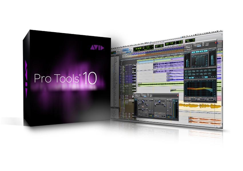 Avid pro tools 10 professional audio recording 9920-65013-00.