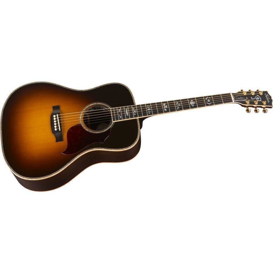 gibson songwriter deluxe custom acoustic guitar vintage sunburst long mcquade musical. Black Bedroom Furniture Sets. Home Design Ideas