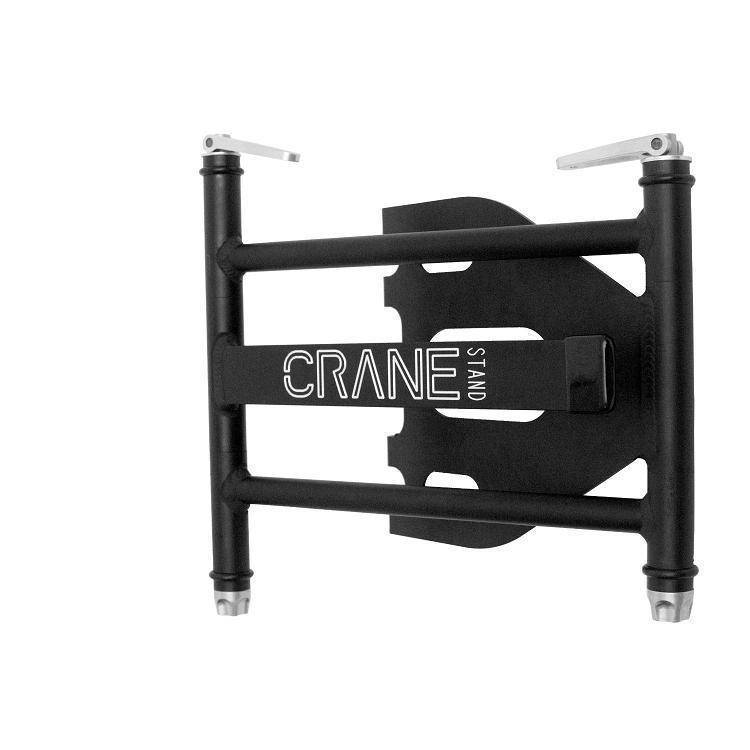 crane hardware crane stand pro laptop stand long mcquade musical instruments. Black Bedroom Furniture Sets. Home Design Ideas