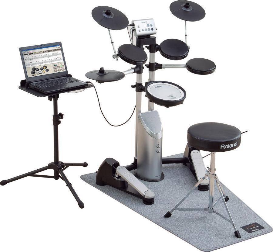 roland roland hd 1 elctronic set w dt 1 software bundle long mcquade musical instruments. Black Bedroom Furniture Sets. Home Design Ideas