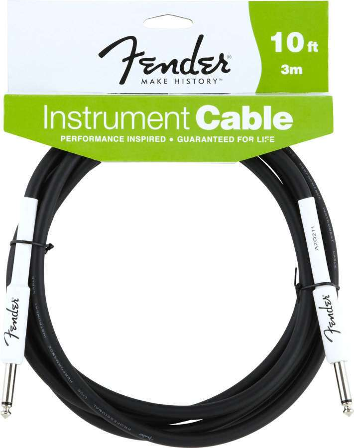 Fender 10 Ft Instrument Patch Cable - Long & McQuade Musical Instruments